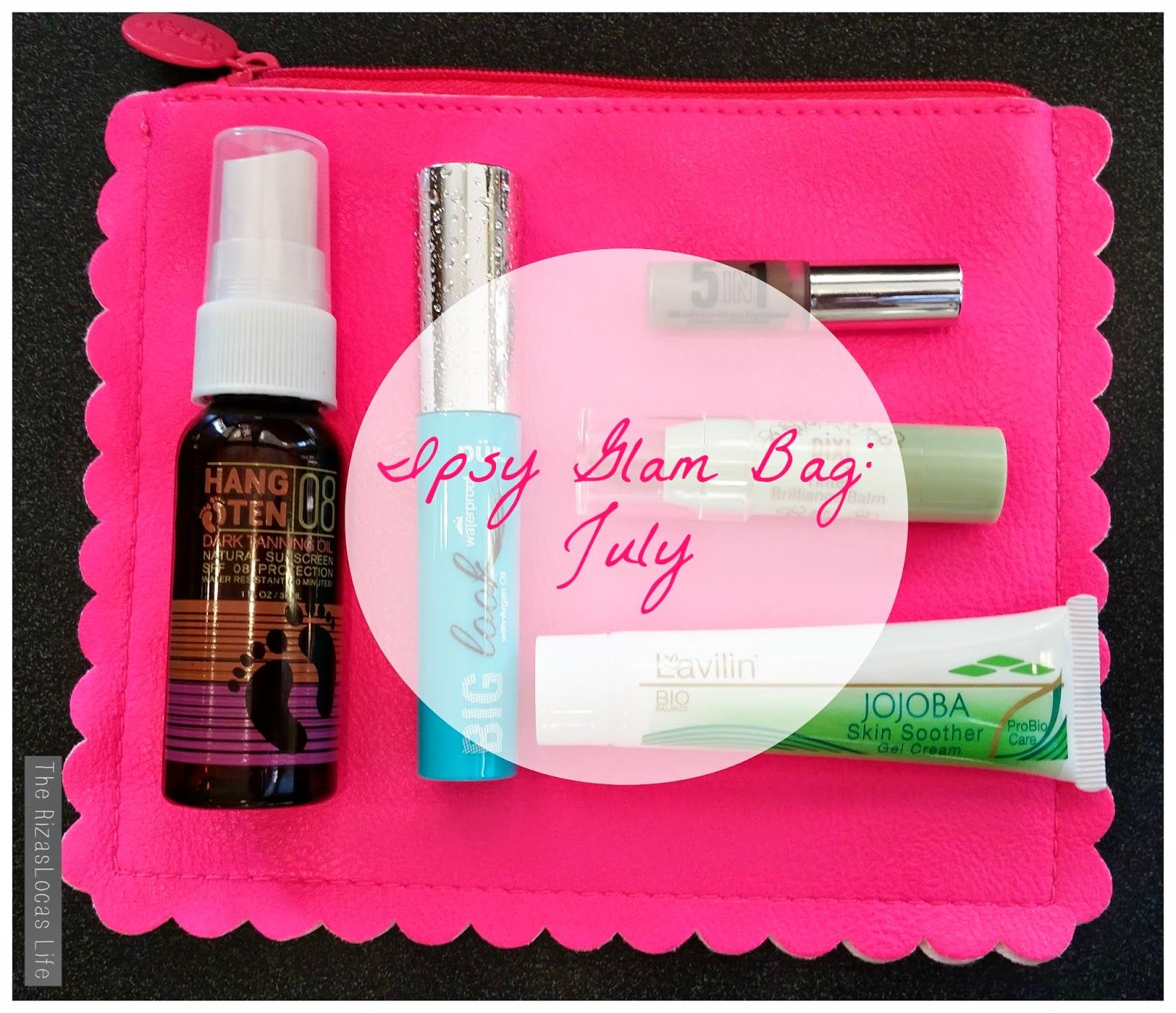 What's in my July Ipsy bag?  Visit www.therizaslocaslife.com to find out!