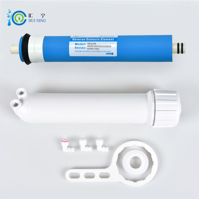 Water Filter 50g Ro Membrane And Membrane Housing With Connector And Wrench For Reverse O Reverse Osmosis Water Reverse Osmosis Reverse Osmosis Water Filter