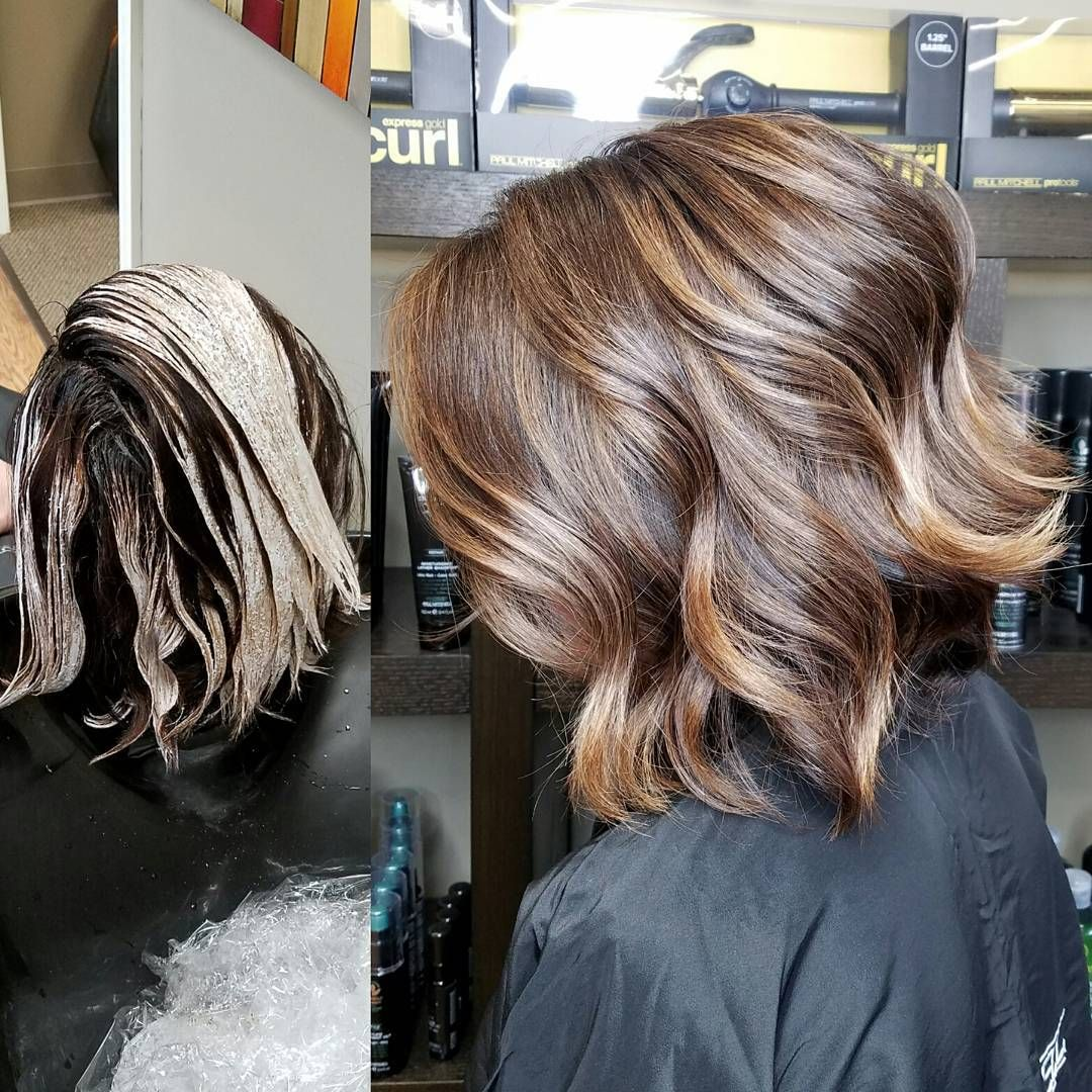 Camouflageandbalayage Root Retouch W Paul Mitchell The Color 5nn
