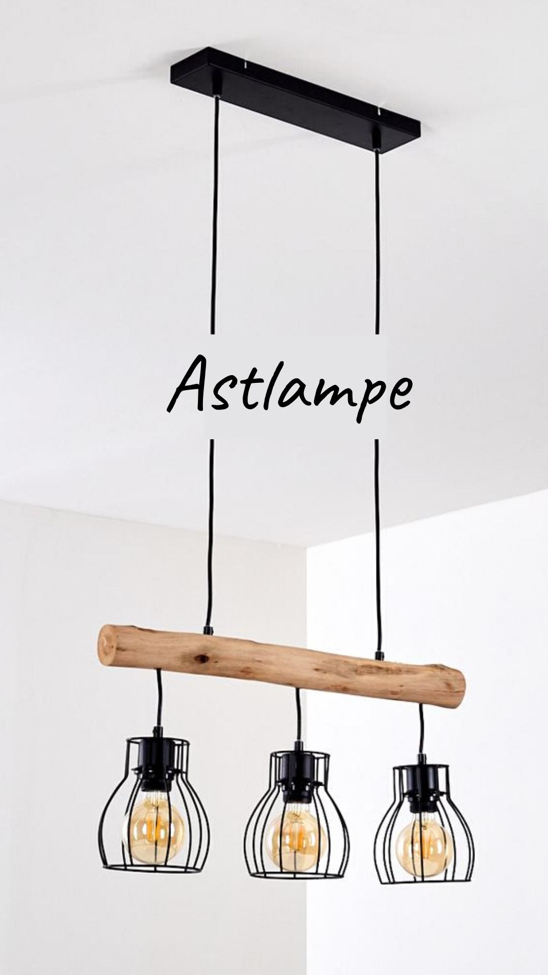 Lampe Ast Holzlampe Fur Den Esstisch Holz Hangelampe Lampe Esstisch Ast Lampe