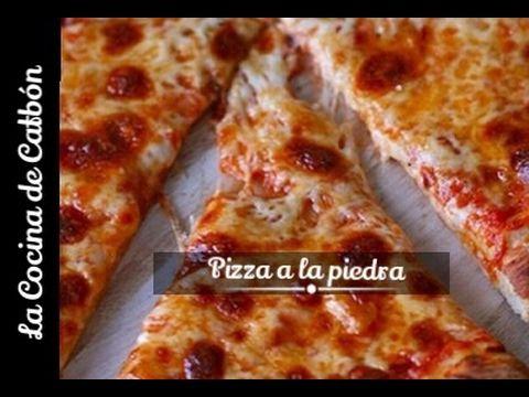 Cómo Hacer Pizza A La Piedra Casera Crujiente Y Fácil La Cocina De C Hacer Pizza Casera Como Hacer Pizza Masa De Pizza Casera
