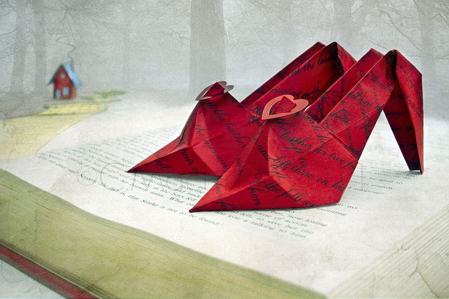 Wizard of oz origami art.