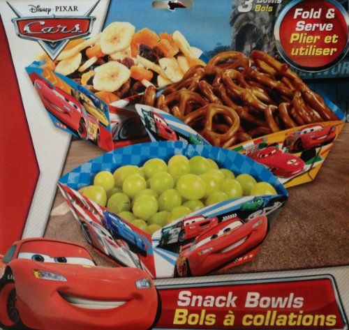 Disney & Pixar CARS LIGHTNING McQUEEN Party Fold & Serve SNACK BOWLS (3 Count) Disney http://smile.amazon.com/dp/B00G70P8ZY/ref=cm_sw_r_pi_dp_0VvPub0QRP5CY