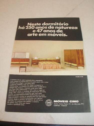 propaganda dos moveis CIMO - Pesquisa Google