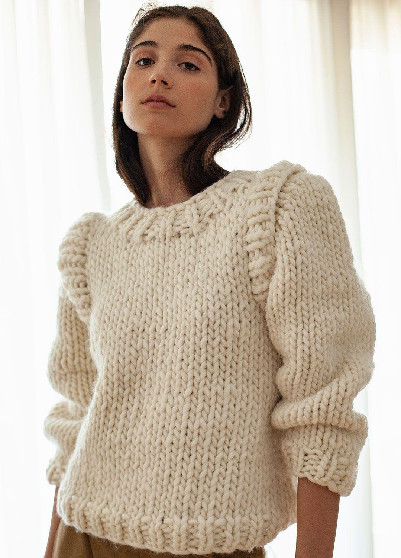 Gaspard Sweater Shop Wak Knitting Kits Chunky Knitwear