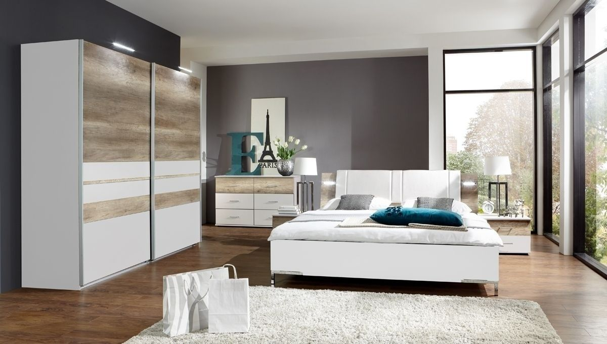Schlafzimmer Komplett Malaga Weiß Wildeiche 7174. Buy Now At Https://www.
