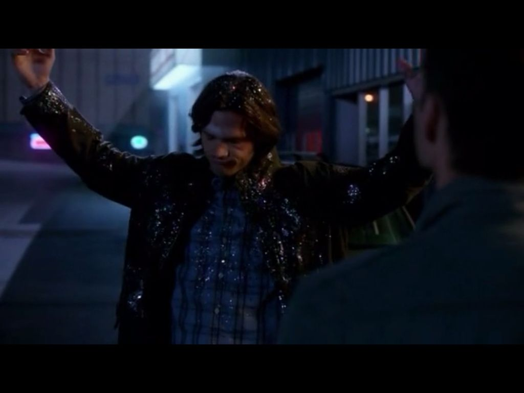 Supernatural season 7 episode 14 Sam xD