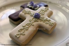 easter cross cookies | Easter Cross Cookies. via Etsy.