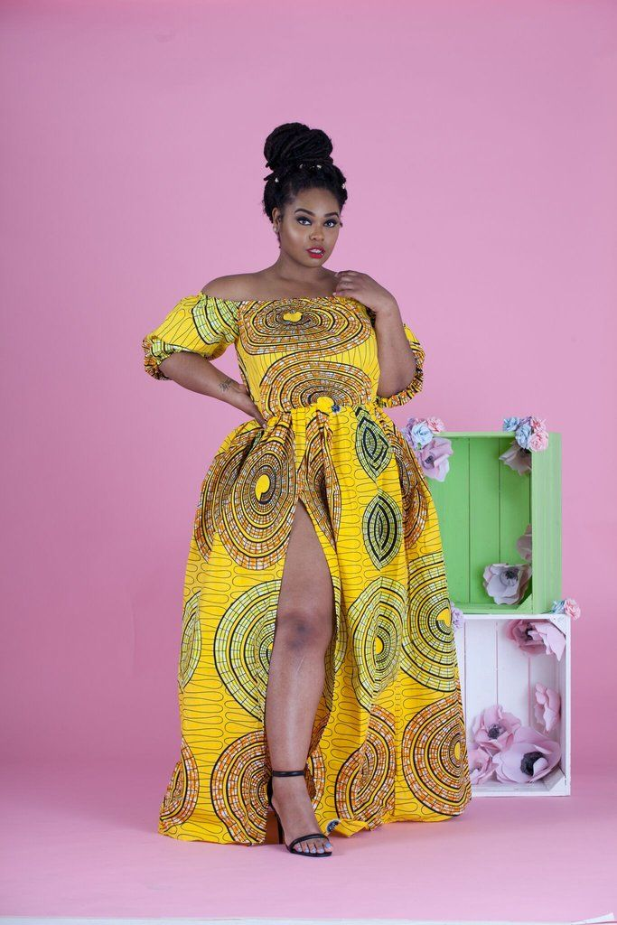 African Shaka Maxi Dress | Clothes | Pinterest