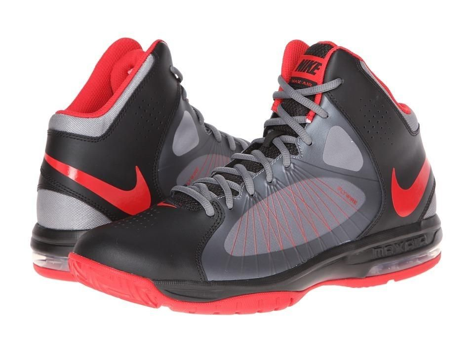 Nike Air Max Actualizer II Men\u0027s Basketball Shoes - Black/Metallic Cool  Grey/Volt/University Red on sale. Find great prices on additional Men\u0027s  Shoes at ...