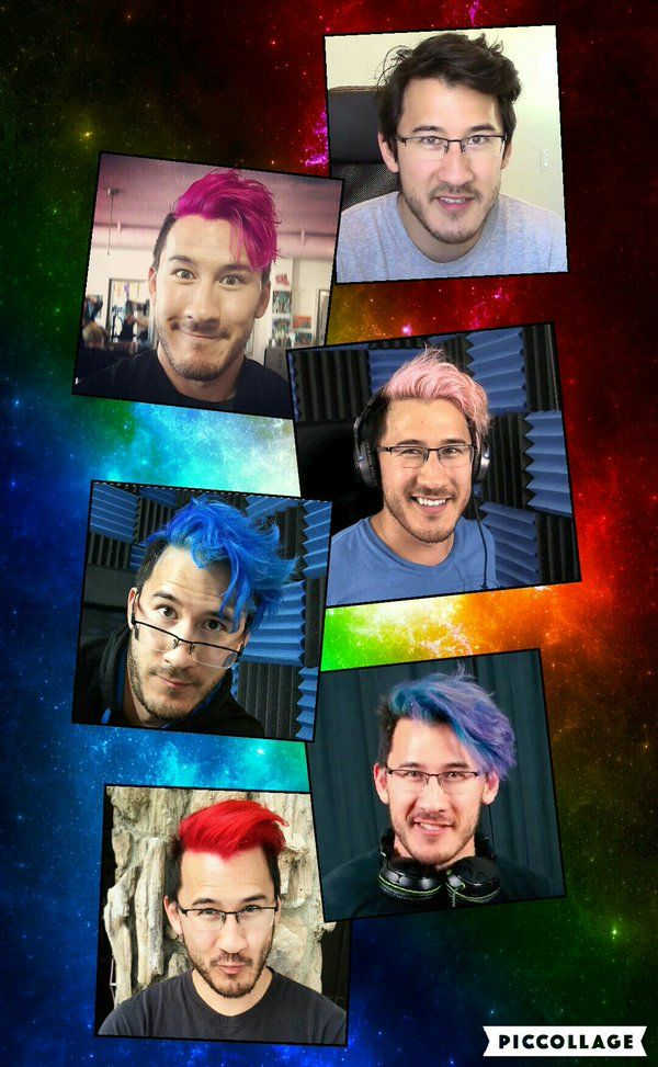 markiplier's hair color