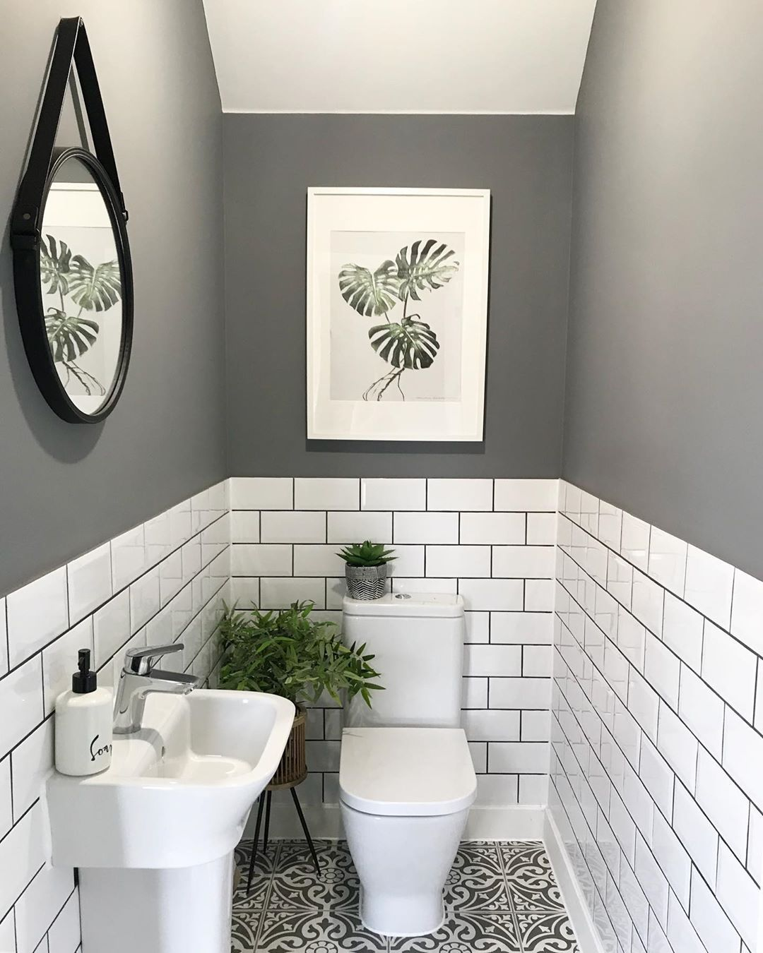 Laura On Instagram We Re Half Way Through The School Holidays It S Actually Gone A In 2020 Inexpensive Bathroom Remodel Small Bathroom Makeover Small Toilet Room