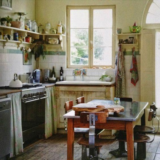 Moon to Moon: kitchen: