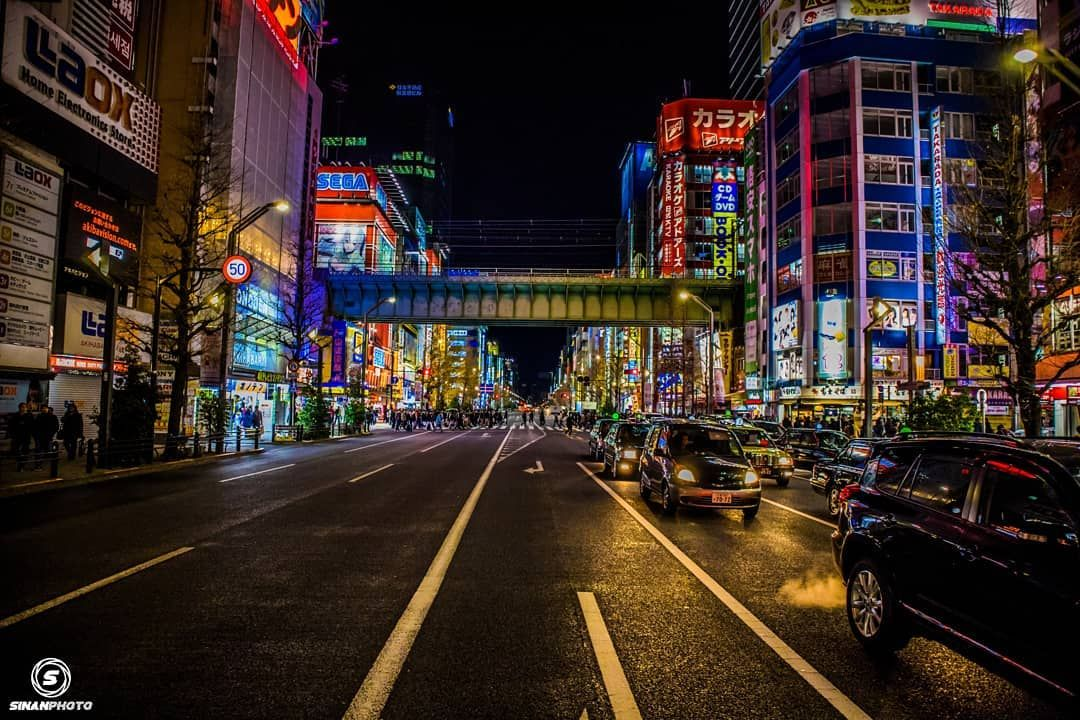 Tokyo By Night 4  This City Never Sleeps at Night  Tokyo  Akihabara  Japan Check out my  Tokyo By Night 4   This City Never Sleeps at Night  Tokyo  Akihabara  Japan  Check out my Youtube (Link in BIO)  -> Video in Akihabara :  @canonfrance @eos_canonjp @visitjapanjp @el.thom  #akihabara#tokyo#japan#asia#lifestyle#photographer#photography#dream#traveler#canon#night#nightphotography#写真好きな人と繋がりたい#city #technology#colors#日本#東京#旅#赤#tb#youtube#vlog#landscape#screen#ads#traffic#crowd