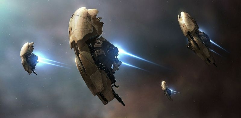 Oracle Battle Cruiser: EVE Online | EVE ONLINE | Sci fi wallpaper