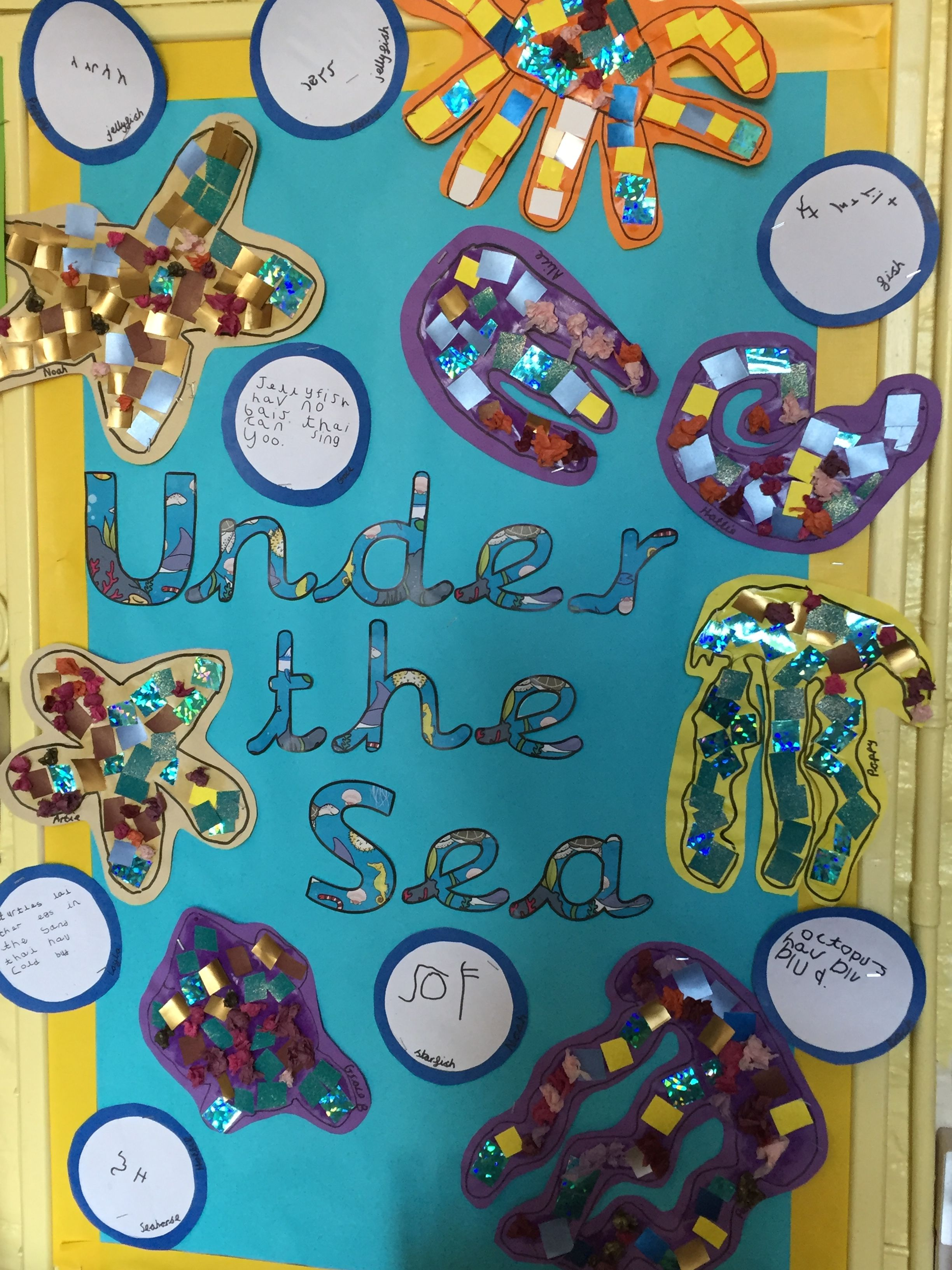 Under the Sea EYFS Under the sea, Sea creatures, Creatures