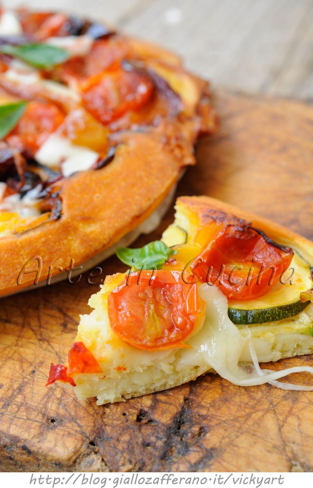 Focaccia rovesciata salata veloce con pomodorini e