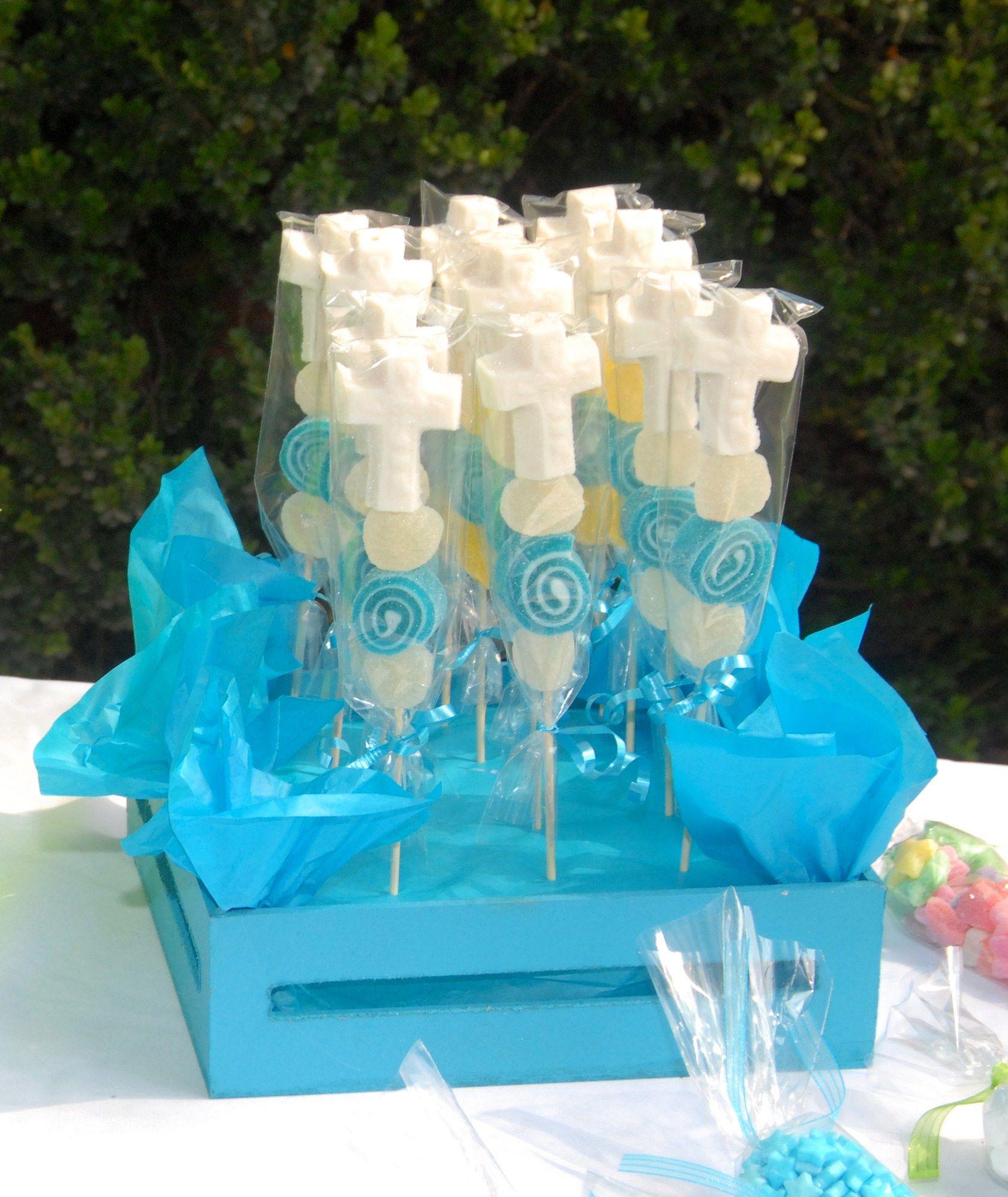 comunin mesa dulce para tus eventos religiosos banderillas de gomitas