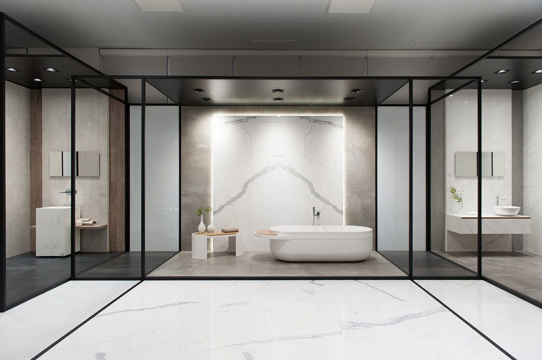 Showroom URBATEK - Muestra Arquitectura PORCELANOSA Grupo | BATHROOM ...