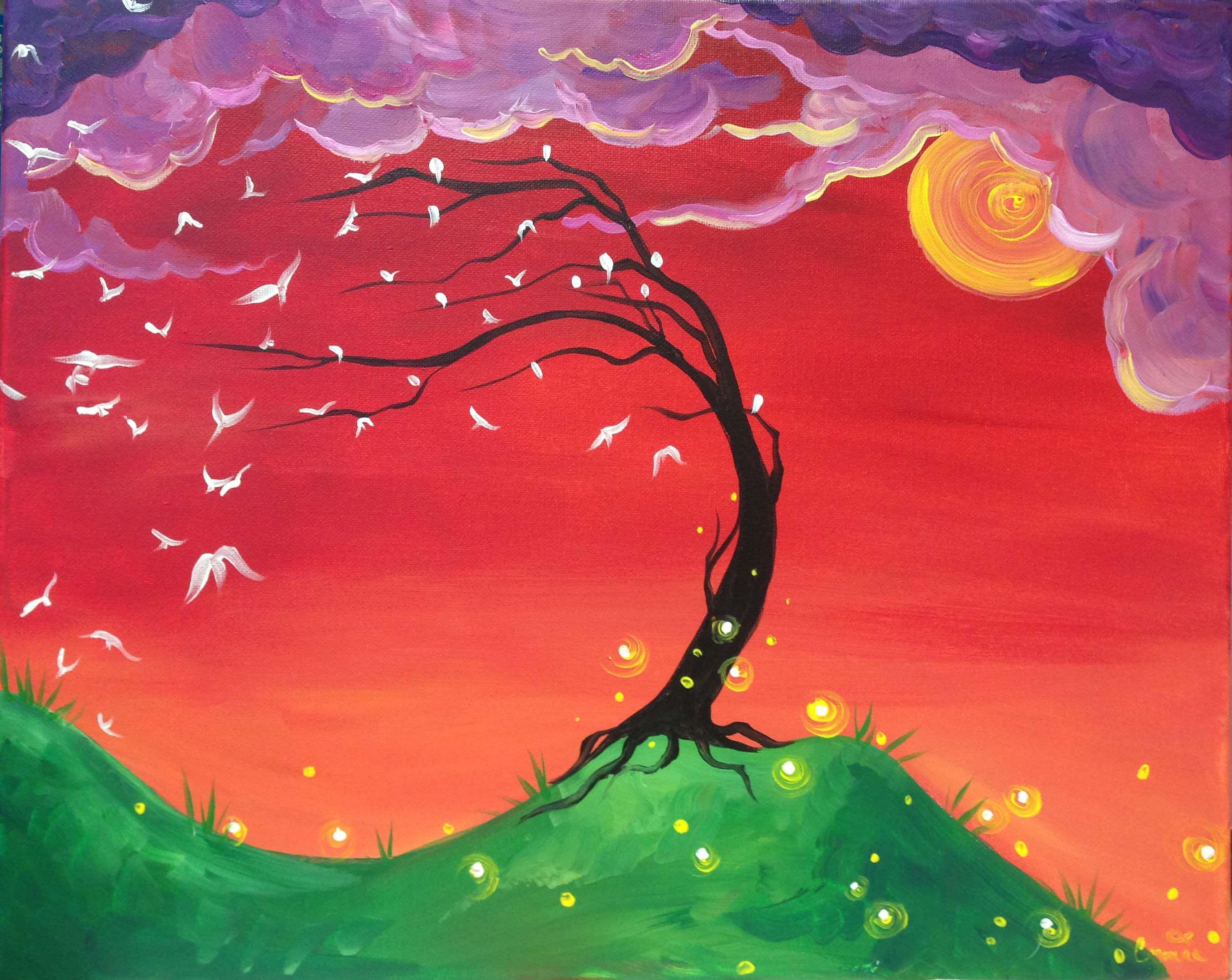 Link To Choose Artwork New Bern Nc Wine Design Painting Tree Art Autumn Art