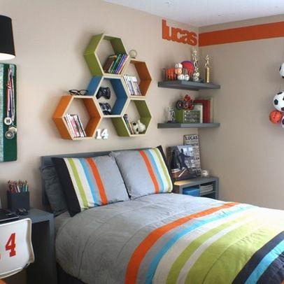 soccer boys room makeover contemporary kids portland embellishments kids - Little Boy Room Paint Ideas