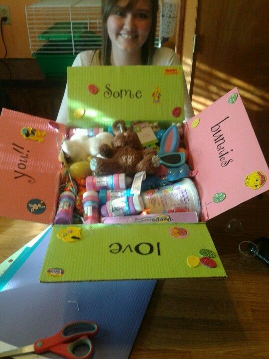 Easter care package gift ideas pinterest easter easter negle Image collections