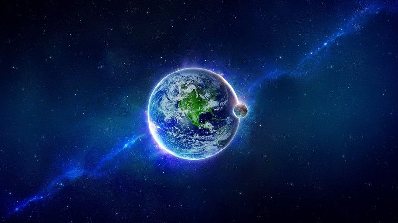Planet Earth Hd Wallpaper Earth Live Wallpaper Earth From Space Space Art