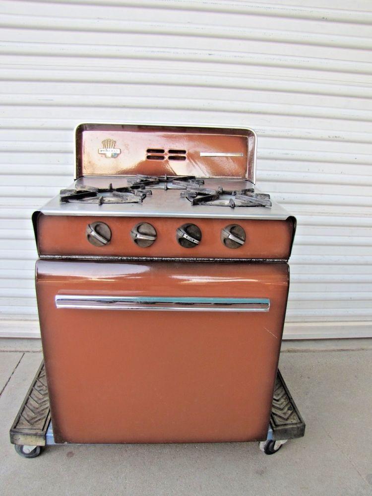 Rv Propane Stove >> Details About Vintage Rv Travel Trailer Camper Propane Stove Oven 3