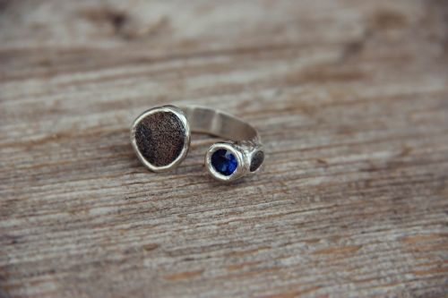 Ring with the stones