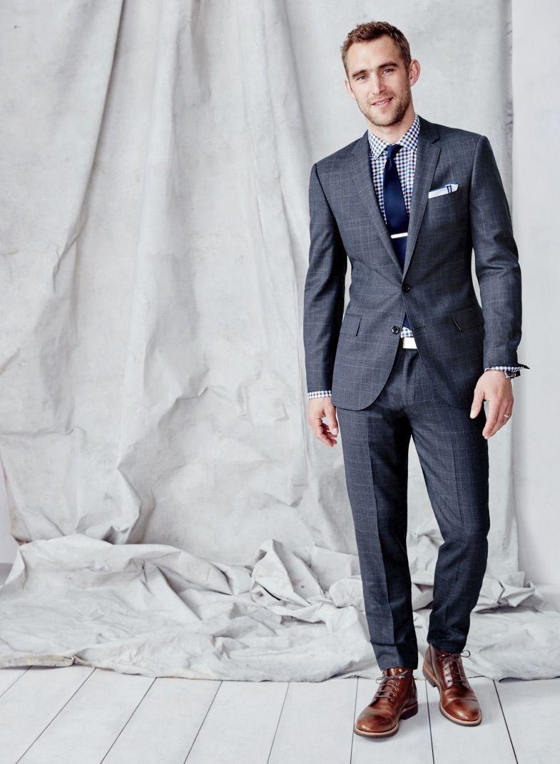 43a12507956 Hot Male Models — Will Chalker. | suit & tie | Modern mens fashion ...