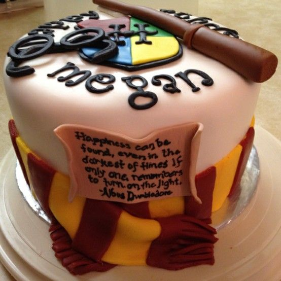 Harry Potter birthday cake even has my name on it its a sign