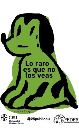 Green Dog Movement in support of rare diseases #MovimientoPerroVerde