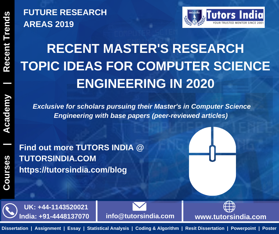 Recent Master S Research Topic Idea For Computer Science Engineering 2020 Cloud Computing Dissertation Topics