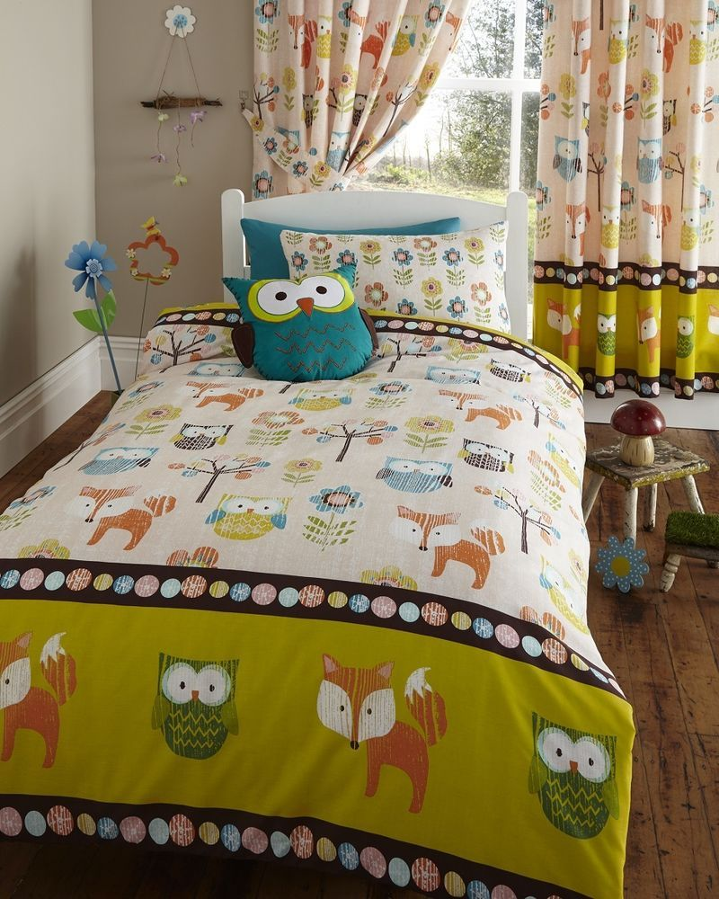 Cot Bed Duvet And Pillow Covers