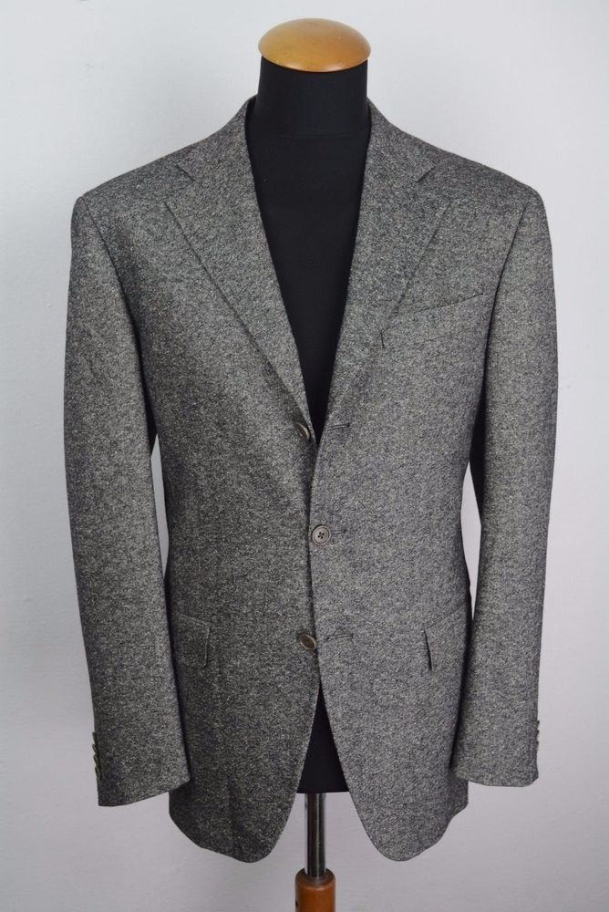 Mens Tombolini Blazer size 40R Wool Silk Sport Coat Jacket gr. 50 ...