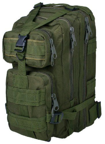 Sport Outdoor Military Rucksacks Tactical Molle Backpack Camping Hiking Trekking Bag-ACU
