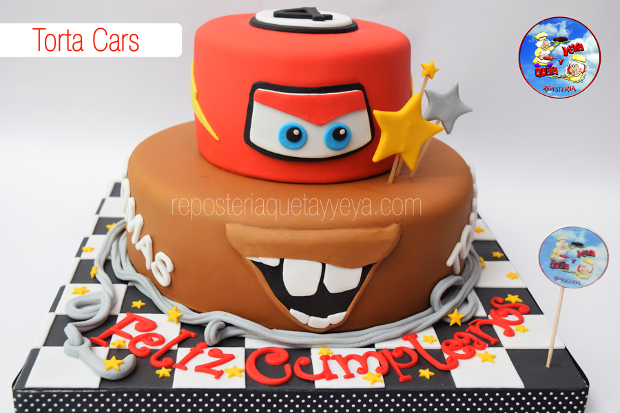 Torta Cars - Cars Cake