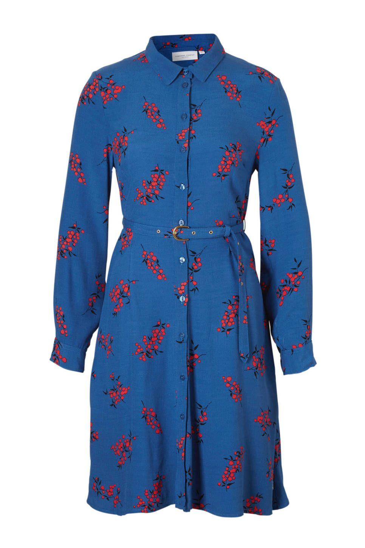 783630b9041 Fabienne Chapot Hayley jurk met bloemenprint #wehkamp #bloemenprint #blouse  #jurk #blousejurk #bloemen #blauw #rood #riem #damesmode #dameskleding