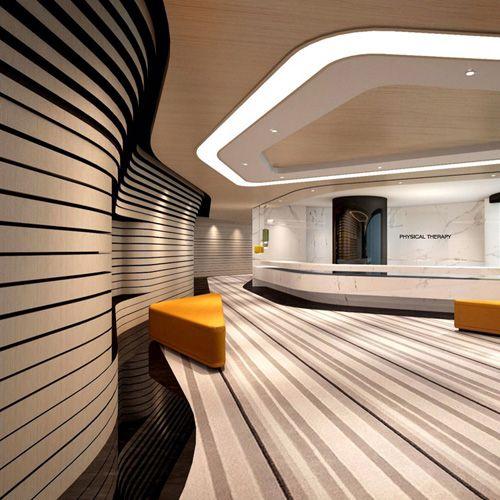 hospital physio department interior design 6 featured
