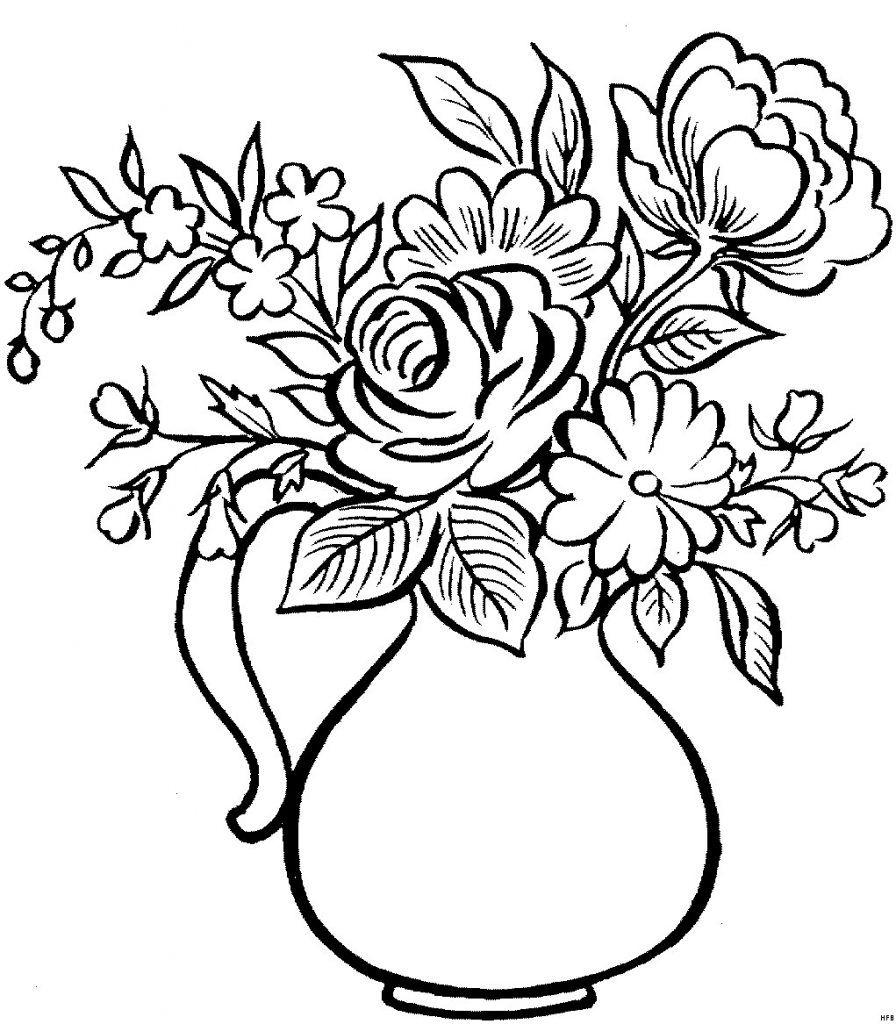 Druckbare Malvorlage Blumen Vorlagen Zum Ausdrucken Ausmalbilder Rosen Ausdrucken Uploadertalk Frisch Malvorlagen Malvorlagen Malvorlagen Blumen Blumen Vorlage