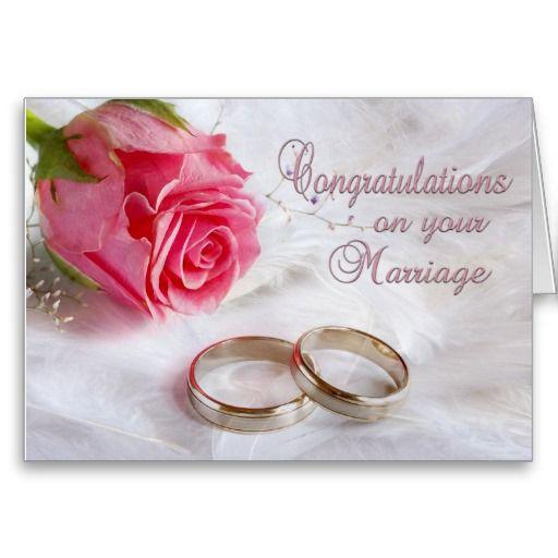 Congratulations Wedding Marriage Card Zazzle Ca Wedding