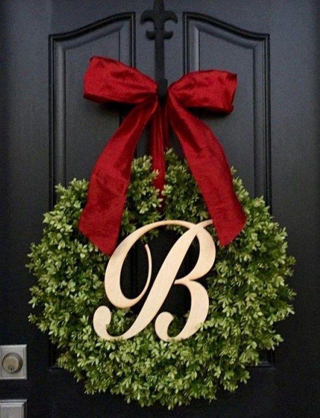 Beautiful Christmas Wreaths for Front Door #ferientisch