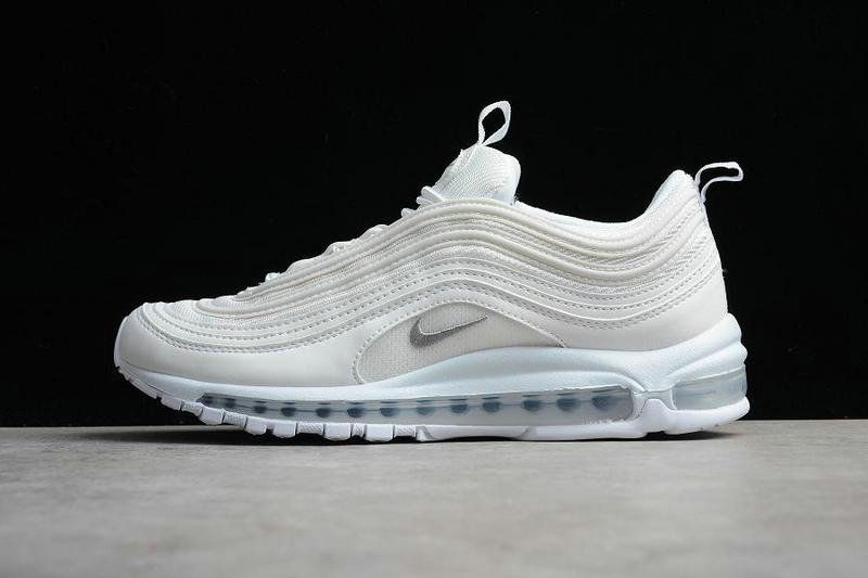 reputable site bfb6d f2c96 Cheapest And Latest New Nike Air Max 97 Triple White 921826-101