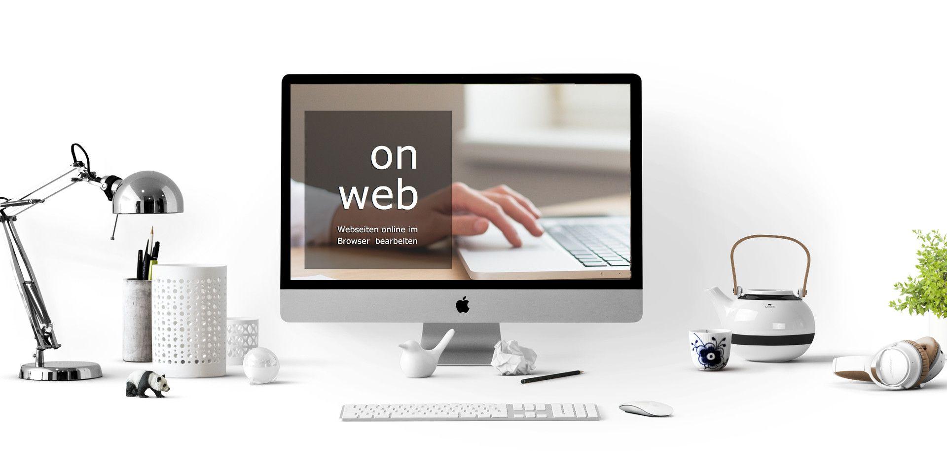 CMS onweb - online Webseiten im Browser WYSIWYG selbst bearbeiten ...