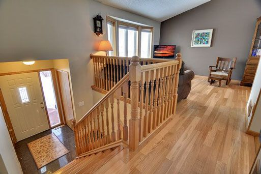 This Entry Seems Deeper Than Most Don T Know If We D Need Much More Than That To Make It More Usable Raised Ranch Remodel Ranch House Remodel Ranch Remodel