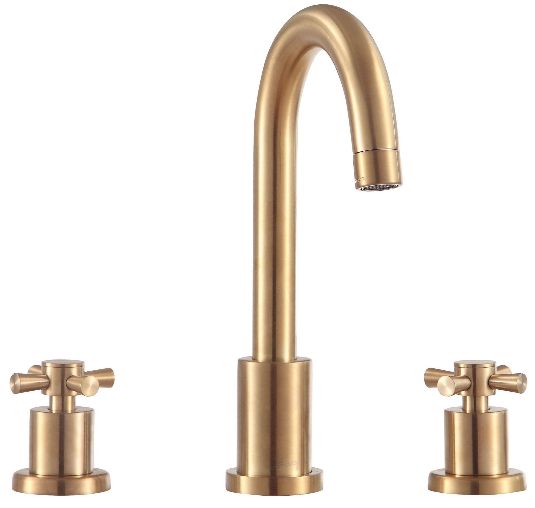 Messina Matte Gold 8 Widespread 2 Handle Bath Faucet In 2020 Bath Faucet Bathroom Faucets Antique Brass Bathroom Faucet