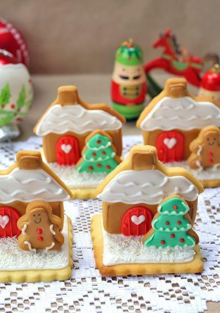 15 Diseños Hermosos De Galletitas Decoradas Para Navidad