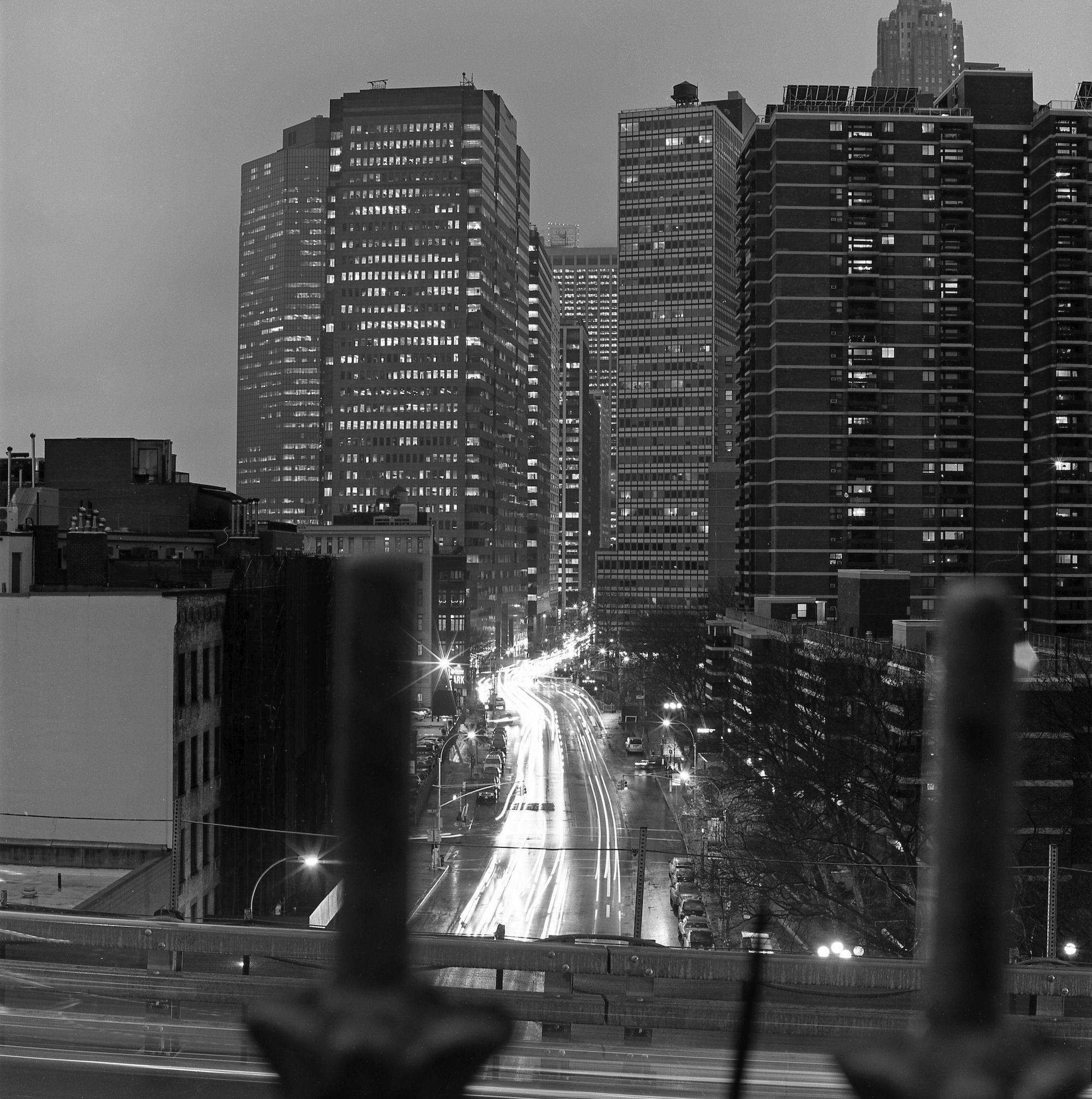 Water Street from Brooklyn Bridge