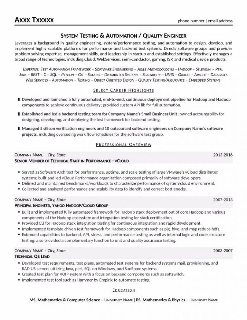 12 Verification Engineer Resume How To Memorize Things Education Resume Math Problem Solving