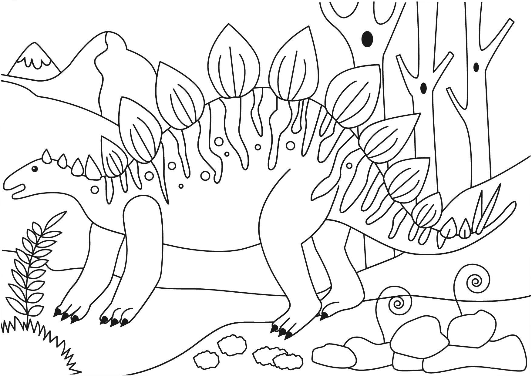 Stegosaurus Dinosaur Coloring Page Dinosaur Coloring Pages Dinosaur Coloring Coloring Pages